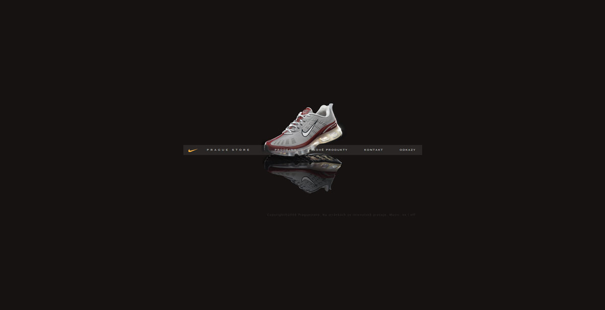 Nike Prague Store – aboutblank – creative web design